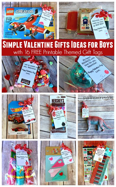 simple gift ideas for boys in the works