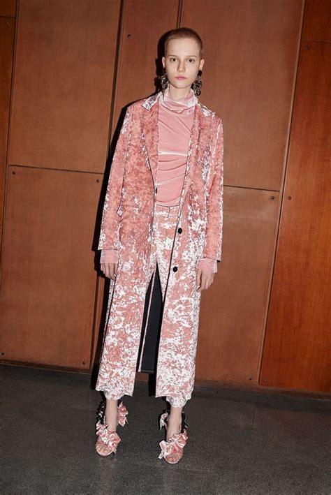 Trend Velvet by Msgm Fall Winter 2016 2017 Fashion Trend Velvet The