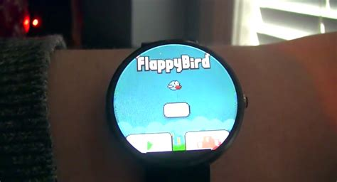 android flappy bird you can now play flappy bird on an android wear smartwatch talkandroid