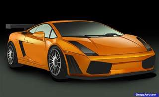 Lamborghini One Of A How To Draw A Lamborghini Step By Step Cars Draw Cars