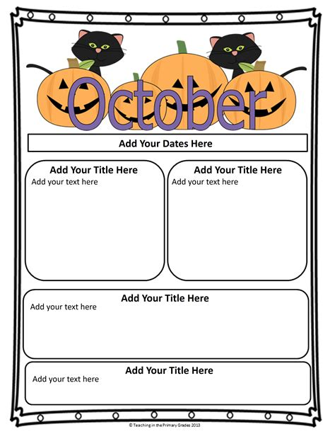parent newsletter templates classroom newsletter templates newsletter templates