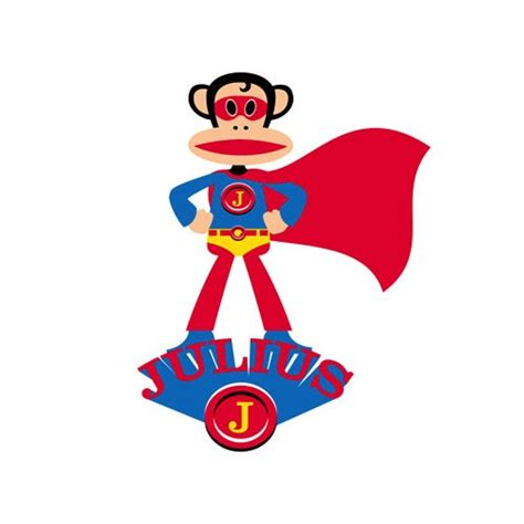 Wall Stickers Boys Bedroom wall decal superhero julius paul frank vinyl wall stickers