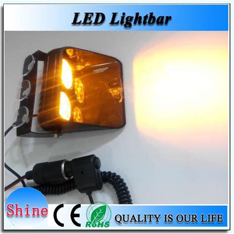 led dash light bar car led strobe light dash lightbar warning lightbar