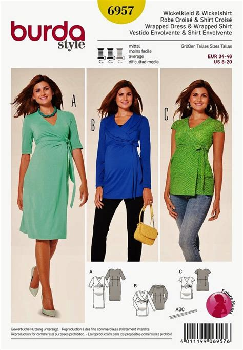 clothes pattern in spanish maternity dress pattern maternity top pattern sz 8 to 20