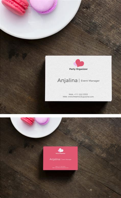 Business Card Presentation Template Psd by Business Card Mockup Psd Template Age Themes