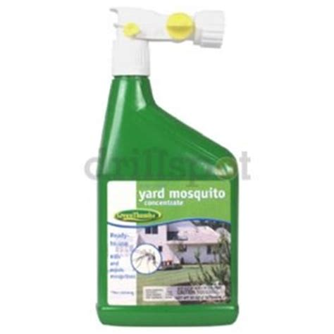 mosquito spray for backyard brands inc 827925 quot green thumb quot 32 oz