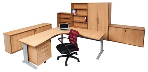 Beech Corner Desk Rapid Beech Corner Office Desk Workstation Office Stock