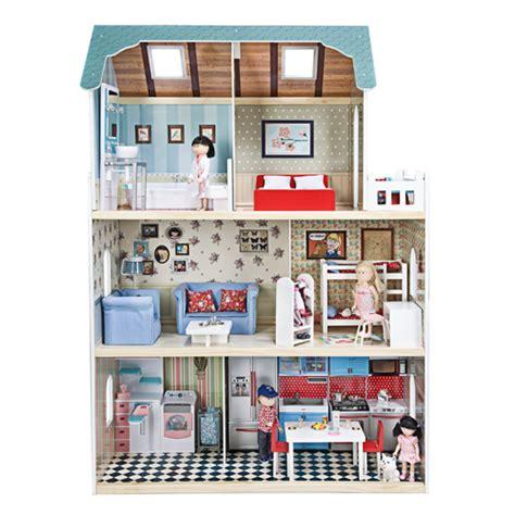 casa bambole imaginarium casa delle bambole di legno amanda family maison