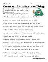 1000 images about commas on pinterest worksheets note