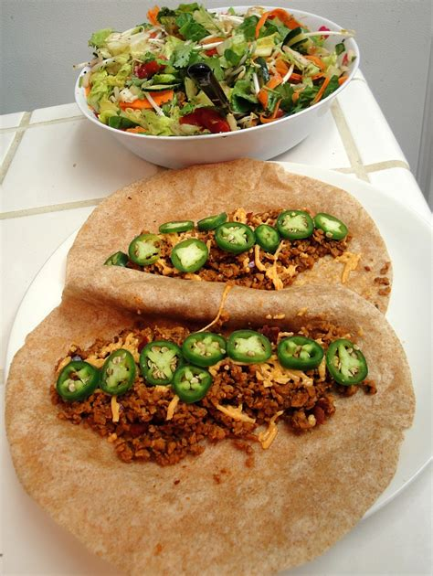 tvp tacos textured vegetable protein recipe for taco filling funkinutt mcfly s vegan food blog
