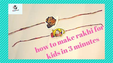 How To Make Handmade Rakhi At Home - rakhi for how to make rakhi at home easily