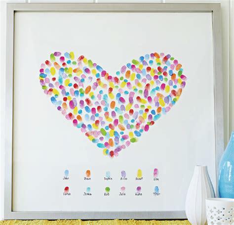 Gift Idea Free Digital Prints For by Diy Gift Idea Framed Fingerprint