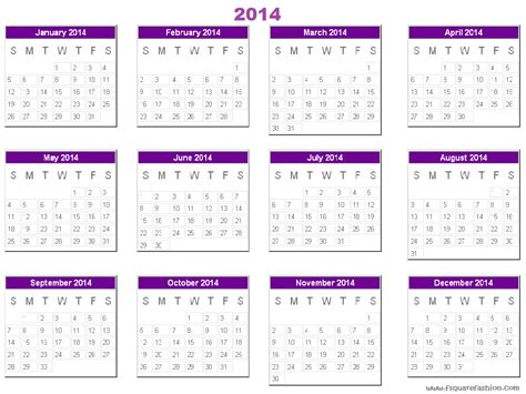 search results for template calendar 2014 free with