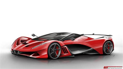 future ferrari ferrari f750 concept car futuristic cars future vehicles