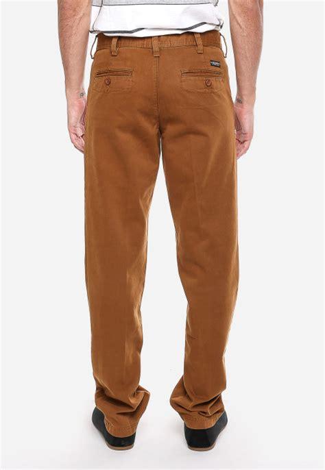 Kk908 Jas Koko Motif Terbaru 33 celana katun coklat kemerahan tilan casual model