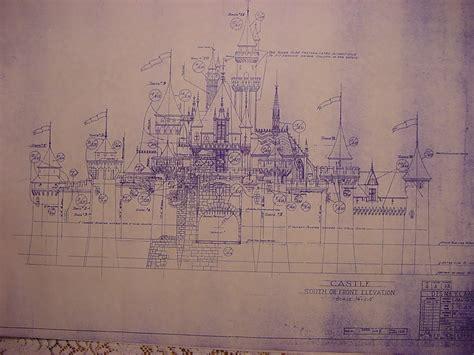 castle blueprint disneyland s fantasyland blueprints