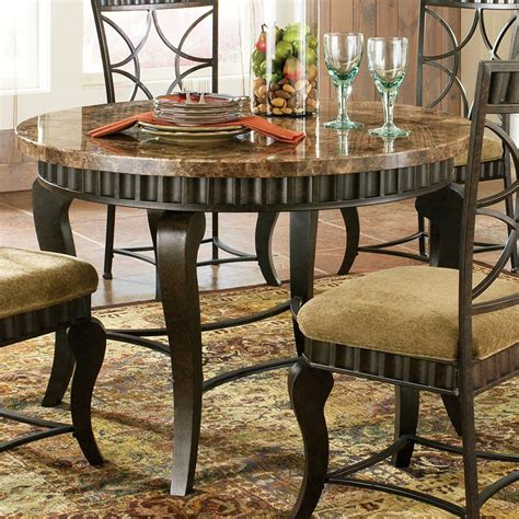 2468 72 bering dining table by homelegance in espresso w steve silver hamlyn round dining table w marble top