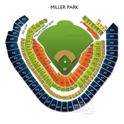miller park seating map miller park tickets miller park ticket info seating