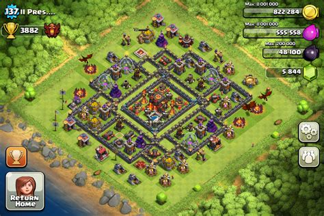 layout for town hall 10 clash of clans base designs clash of clans wiki guides