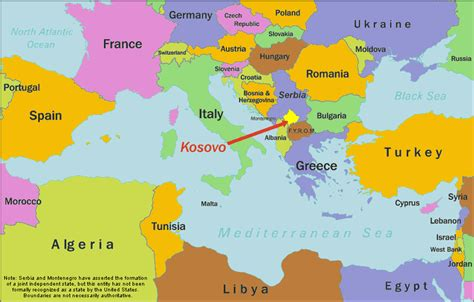 kosovo on a map kosovo base maps