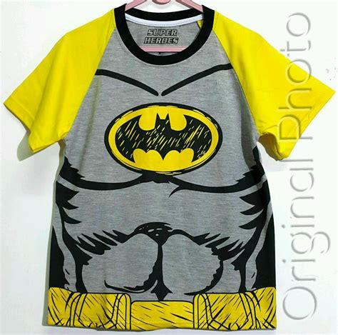 Baju Batman Kaos Batman kaos batman keren 1 6 marvel grosir baju anak grosir