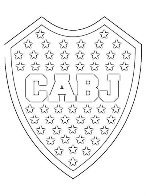 Imagenes De Boca Juniors Para Dibujar Faciles | escudo club atl 233 tico boca juniors dibujos para colorear