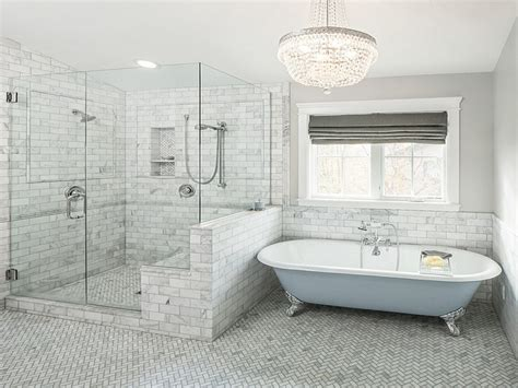 Blue And Gray Bathroom Ideas by Freestanding Slipper Bathtubs Gray And Blue Bathroom