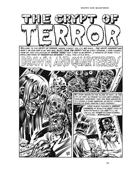 Taint the Meat…It's the Humanity! EC Comics Library by