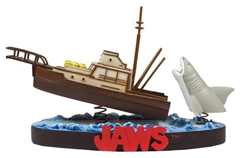 lego boat in motion jaws orca attack premium motion statue geekalerts