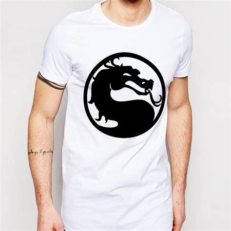 Sweater Mortal Combat Leo Cloth mortal kombat t shirts causal cotton o neck shirt sleeve casual