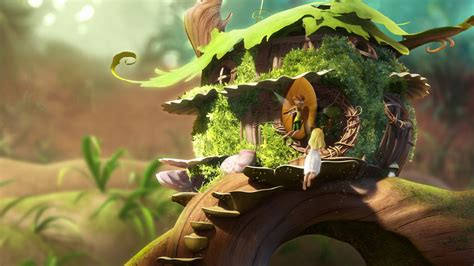 Datei Tinkerbells Haus Film1 Jpg Disney Fairies Wiki