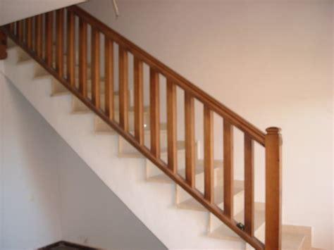 barandillas de madera para escaleras barandillas escaleras facilisimo