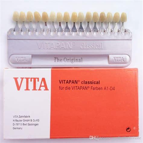 Dental Shade Guide Vita vita 16 dental teeth whitening shade guide dental