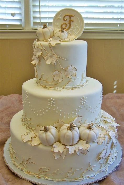Fall Wedding Cakes by 1000 Images About Autumn Cakes On Cake