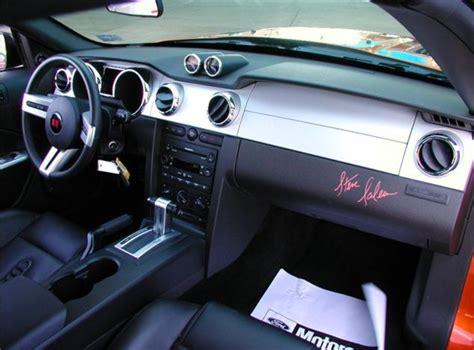 07 Mustang Interior by Beryllium Orange 2007 Saleen S281 Sc Ford Mustang