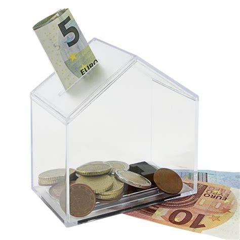 geldverstecke im haus spardose haus acryl 11 x 10 x 6 cm kaufen hmf shop de