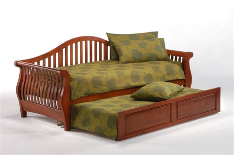 futon with trundle nightfall daybed frame iowa city futon shop