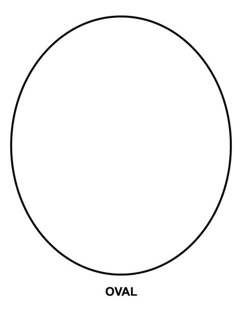 oval coloring page download free oval coloring page for