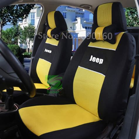 Seat Covers For Jeeps Get Cheap Jeep Wrangler Seat Covers Aliexpress