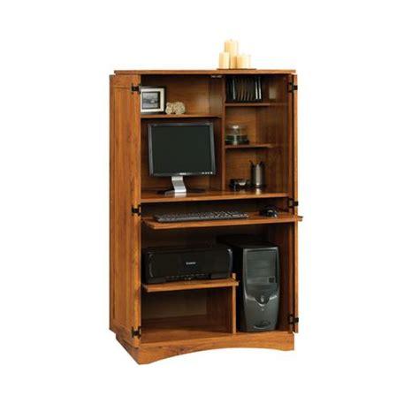 oak computer armoire sauder oak computer armoire walmart canada
