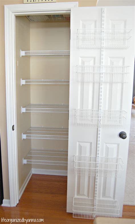Small Pantry Door by Organized Declutter Simplify Organize