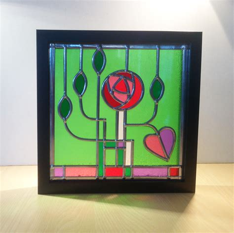 mack blck sq framed wilkins glassartviv wilkins