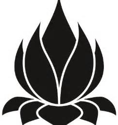 Lotus Flower Silhouette 9 Best Images About Namaste On Vector Stock