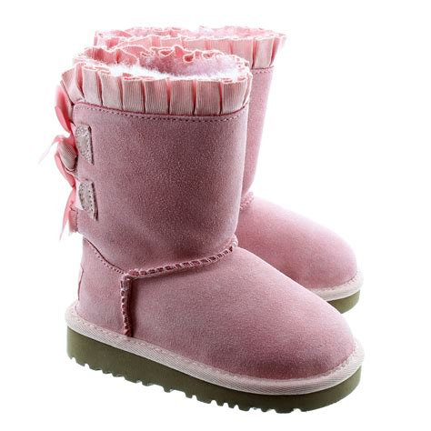 light pink bailey bow uggs pink bailey bow uggs youth