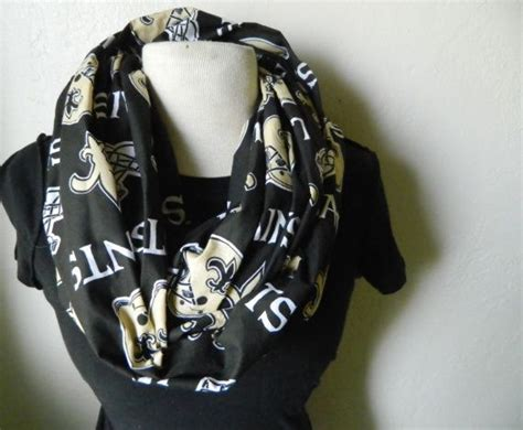new orleans saints cotton infinity scarf the o jays