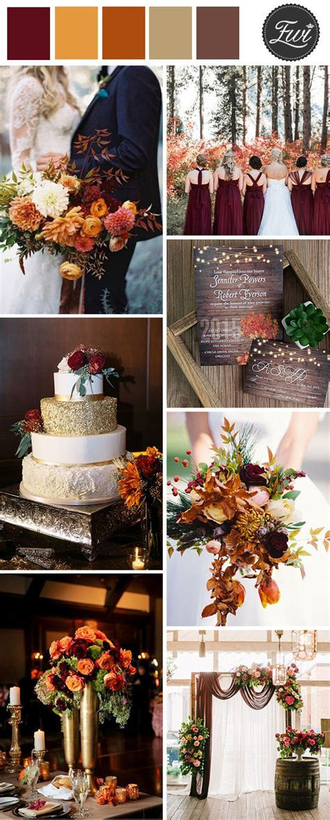 50  Refined Burgundy and Marsala Wedding Color Ideas for