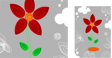 tutorial paper quilling bunga cara membuat bunga berdesain quilling paper dengan