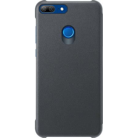 official huawei honor  lite flip cover case black