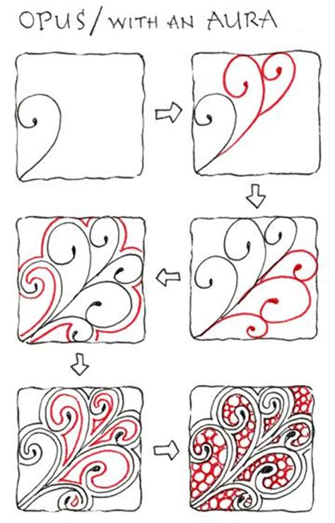 zentangle pattern directions news from zentangle