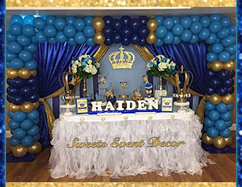 royalty themed decorations royal prince baby shower quot haiden s royalty shower